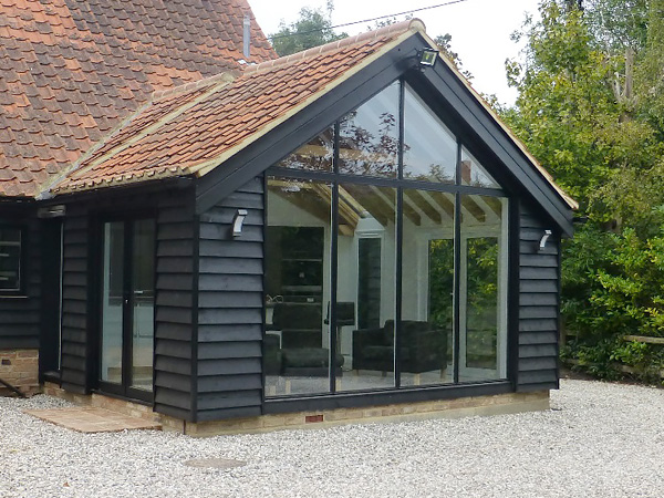 Single Storey timber framed extension in Essex