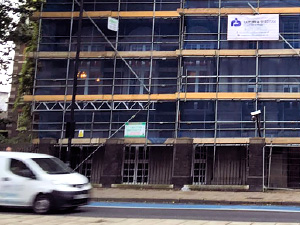 commercial building services London