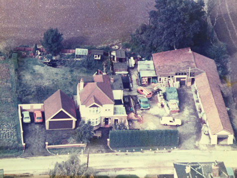 Our old yard, Dudley Lodge, Harlow, Essex